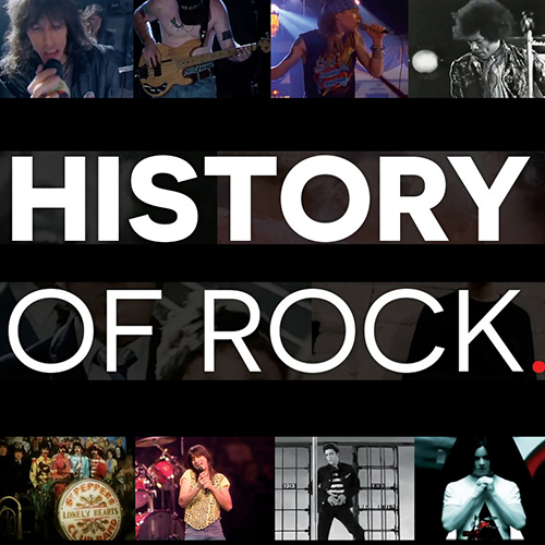 LA HISTORIA DEL ROCK en 15 minutos